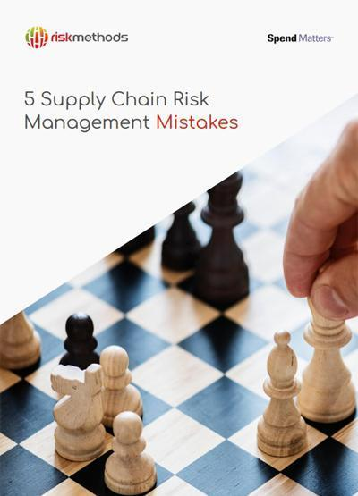 5 Supply Chain Risk Management Mistakes