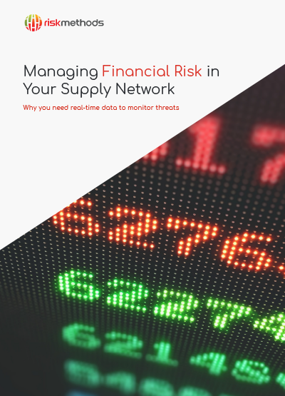 Managing Financial Risk in Your Supply Network