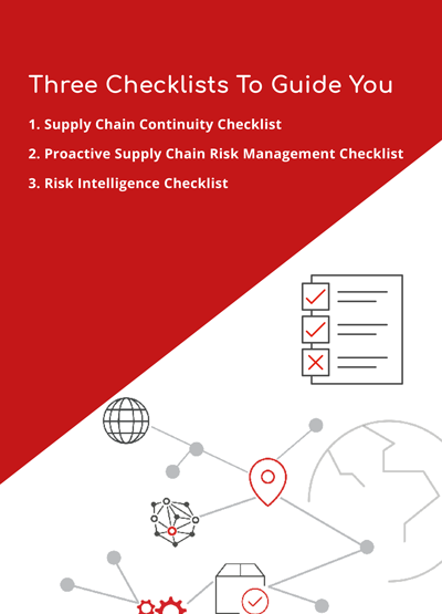 Achieving Supply Chain Resilience Checklists