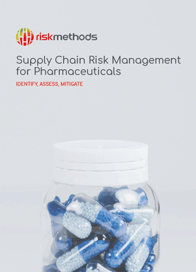 Supply Chain Risk Management for Pharmaceuticals