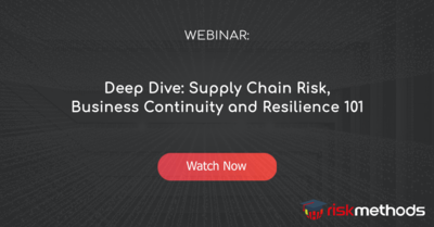 Dee Dive: Supply Chain Risk