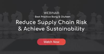Webinar Reduce Supply Chain Risk & Achieve Sustainability