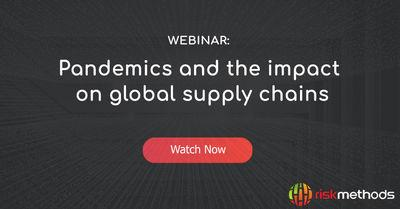 Pandemics and the impact on global supply chains