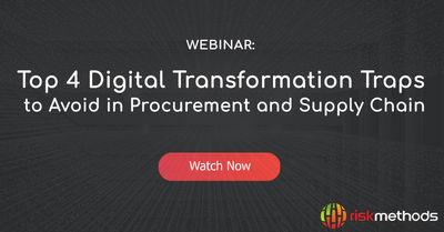 Top 4 Digital Transformation Traps to Avoid in Procurement and Supply Chain