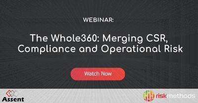 The Whole360: Merging CSR, Compliance and Operational Risk
