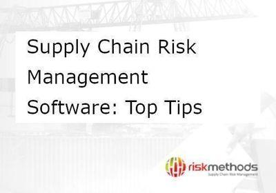 Whitepaper Supply Chain Risk Management Software Top Tips