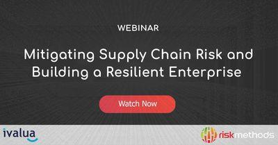 Mitigating SCR and building a resilient enterprise