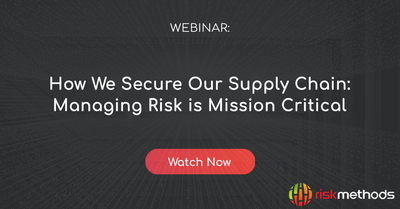 Webinar: How we secure our Supply Chain
