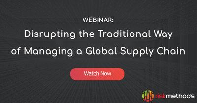 Disrupting the Traditional Way of Managing a Global Supply Chain