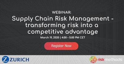 SCRM - transforming risk into a competitive advantage
